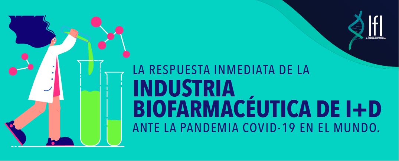 Conoce la respuesta inmediata de la Industria Biofarmacéutica de I+D ante la COVID-19